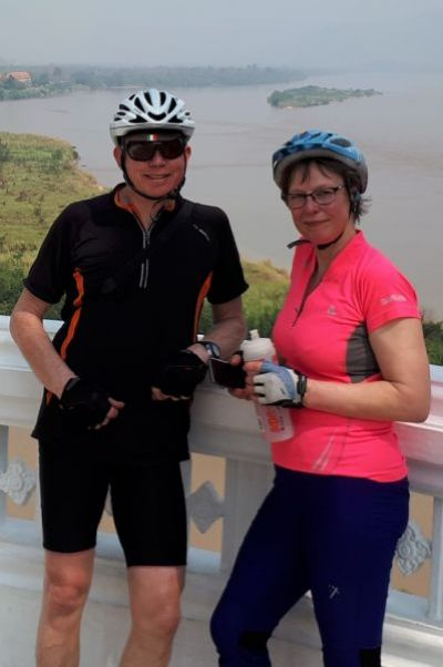 Ross Prielipp & Annette Meier Cycling on the North Thailand tour with redspokes